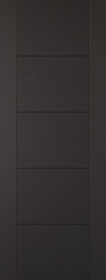 Black Laminated Vancouver Fire Door